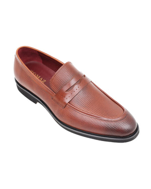 Load image into Gallery viewer, Tomaz HF014 Formal Penny Loafers (Brown)