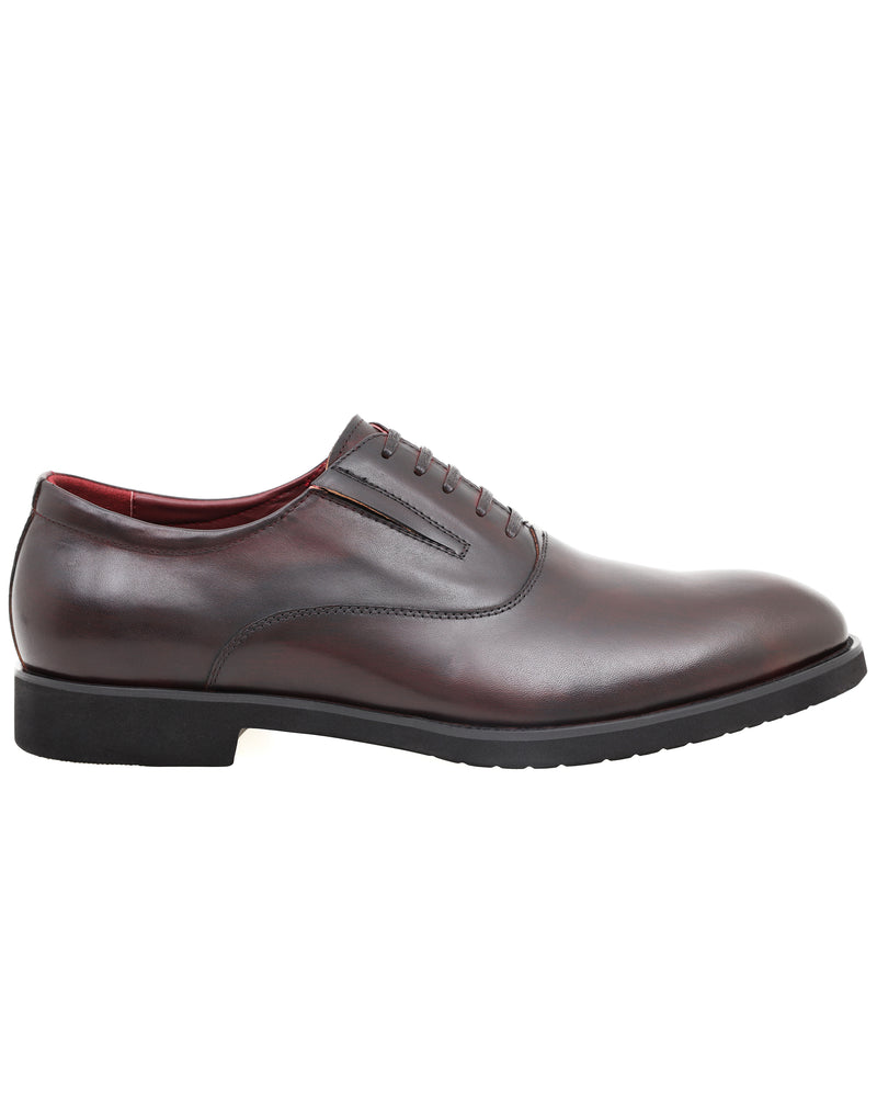 Tomaz HF017 Formal Leather Oxfords (Wine)