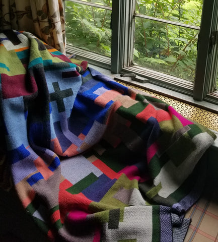 Solid Color Block Blanket