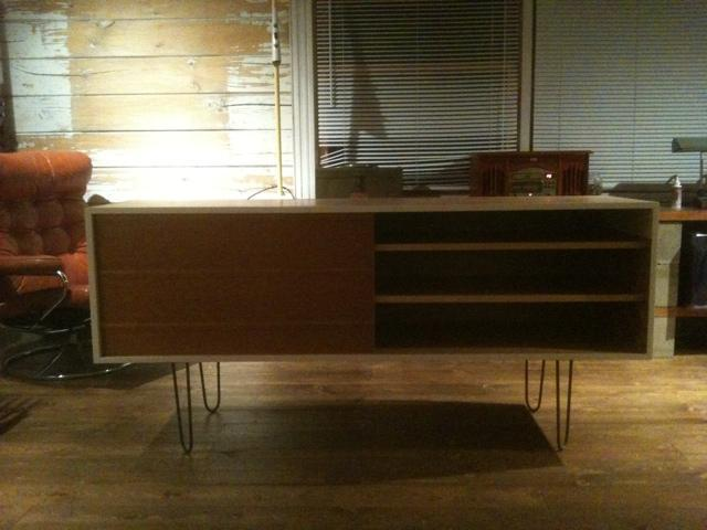 Another scrap-wood credenza