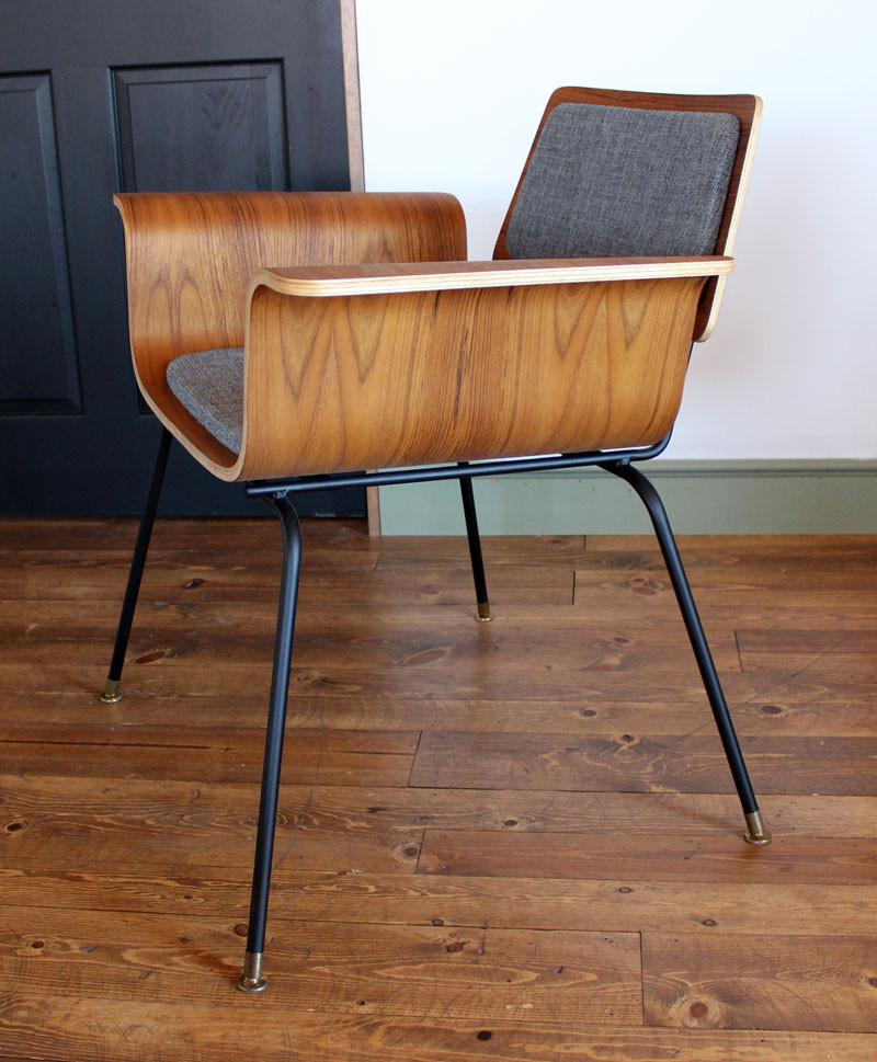 Bent plywood chairs