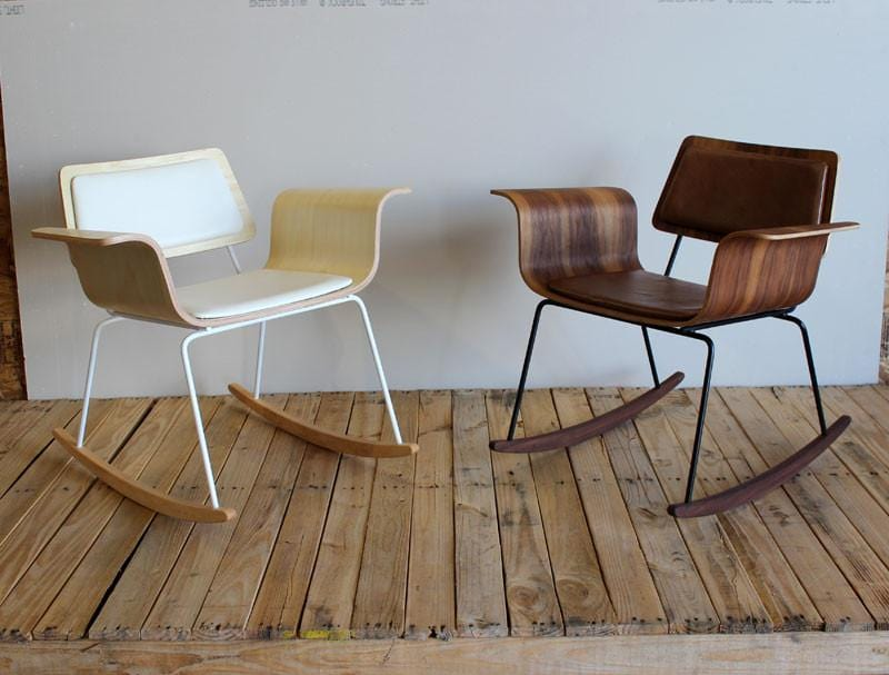 Bent plywood rocker