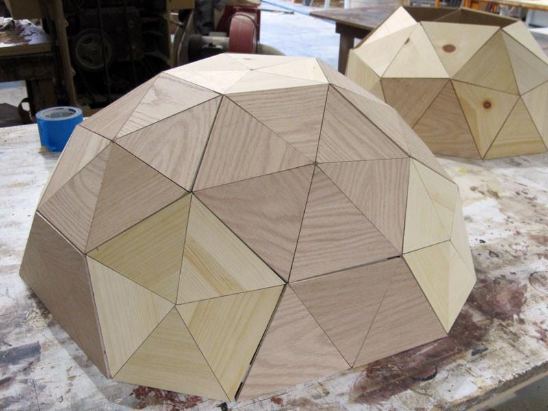 Geodesic Dollhouse