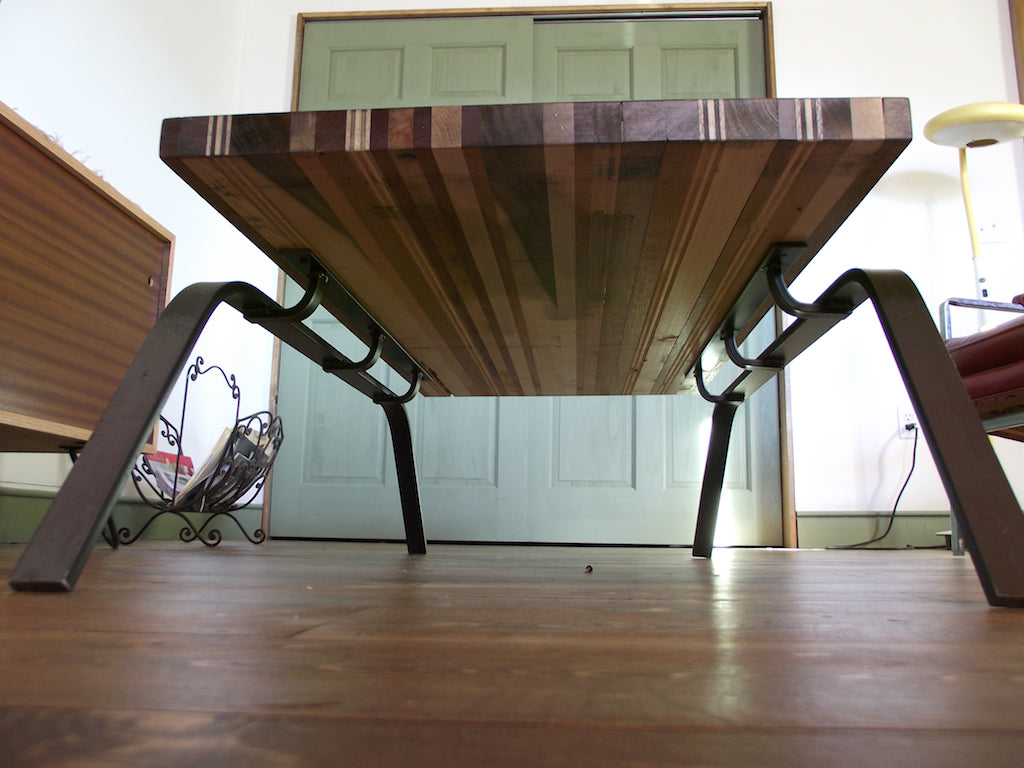Scrapwood sled coffee table onefortythree we geotapseo Image collections