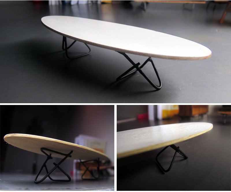 I Also Made A Micro Version Of My Surfboard Table. I Painted The Top White  This Time, But Other Than That Itu0027s Built The Same Way.