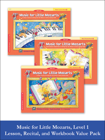 Music for Little Mozarts Level 1 (Value Pack)