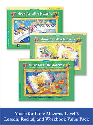 Music for Little Mozarts Level 2 (Value Pack)
