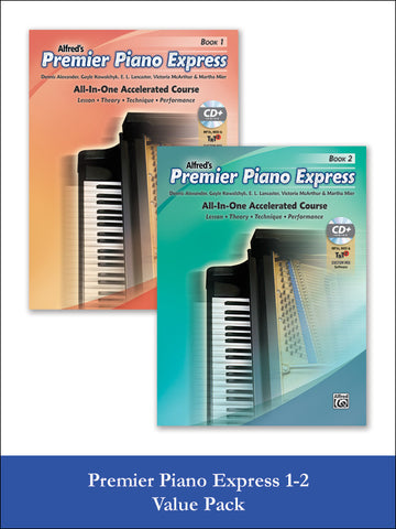valuepack* Premier Piano Express, Books 1 & 2 (Value Pack)