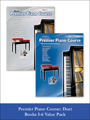 valuepack* Premier Piano Course Duet 5-6 (Value Pack)