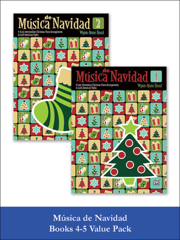 Música de Navidad Books 1-2 (Value Pack)