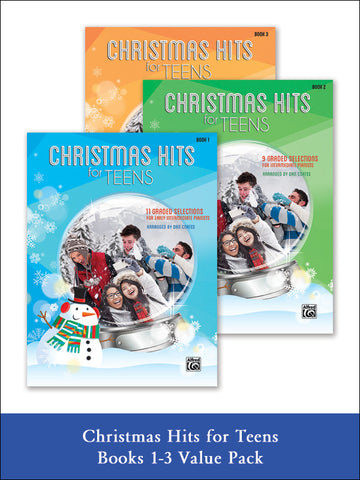 valuepack* Christmas Hits for Teens 1-3 (Value Pack)