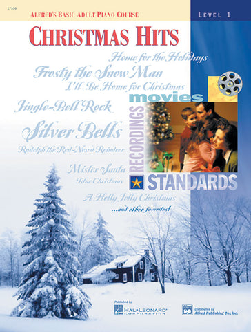 Alfred's Basic Adult Piano Course: Christmas Hits Book 1