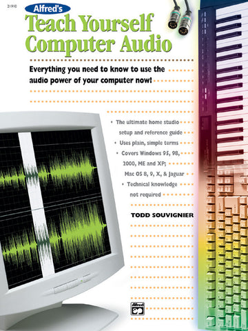 Alfred's Teach Yourself Computer Audio (Book)