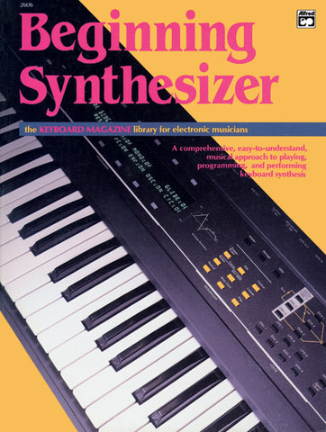 Beginning Synthesizer (Book)