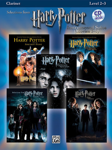 Harry Potter™ Instrumental Solos (Movies 1-5) Clarinet Book & CD