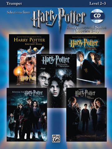Harry Potter™ Instrumental Solos (Movies 1-5) Trumpet  Book & CD