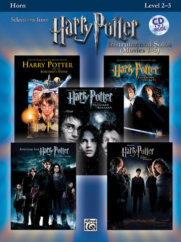 Harry Potter™ Instrumental Solos (Movies 1-5) Horn in F Book & CD