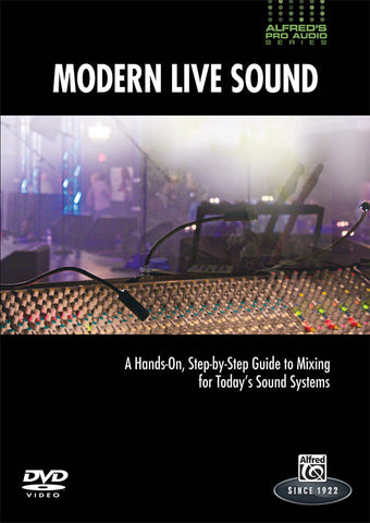 Alfred's Pro Audio Series: Modern Live Sound (DVD)