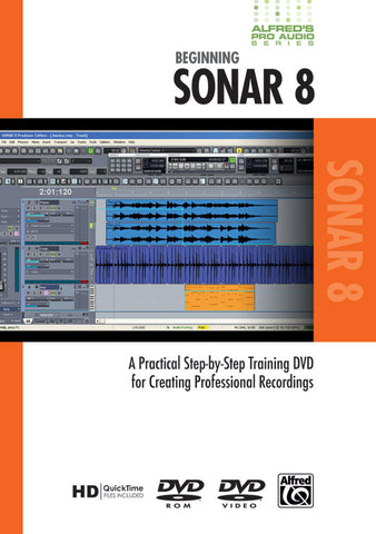 Alfred's Pro Audio Series: Beginning Sonar 8 (DVD)