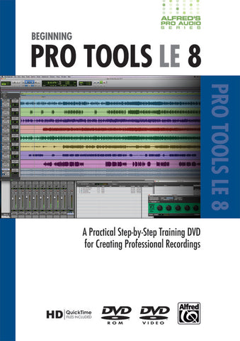 Alfred's Pro Audio Series: Beginning Pro Tools LE 8 (DVD)