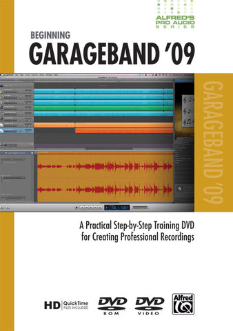 Alfred's Pro Audio Series: Beginning GarageBand '09 (DVD)