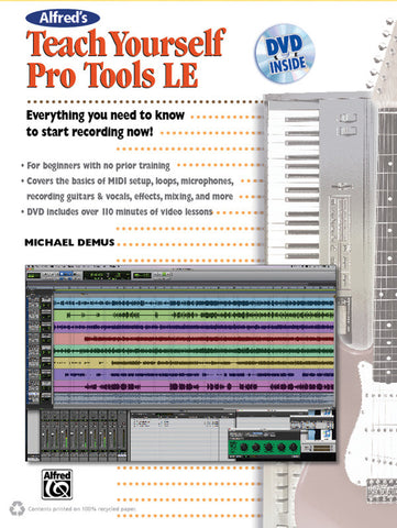 Alfred's Teach Yourself Pro Tools LE (Book & DVD)