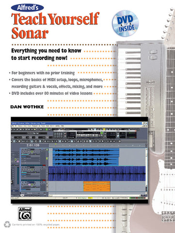 Alfred's Teach Yourself Sonar (Book & DVD)