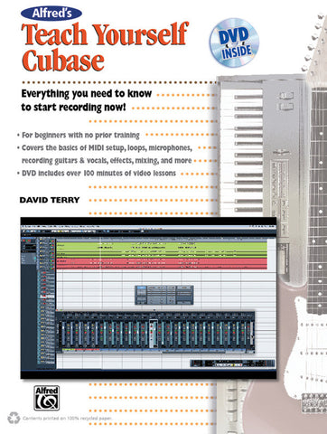 Alfred's Teach Yourself Cubase (Book & DVD)