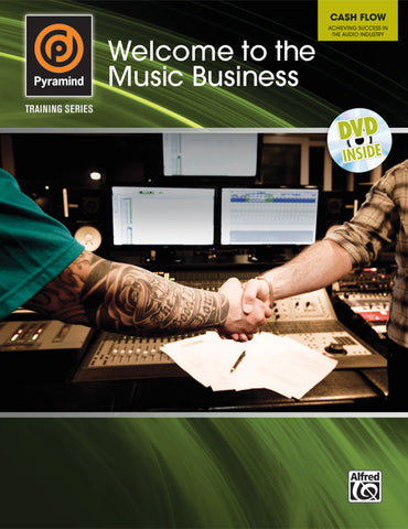 Pyramind Training Series: Welcome to the Music Business (Book & DVD)