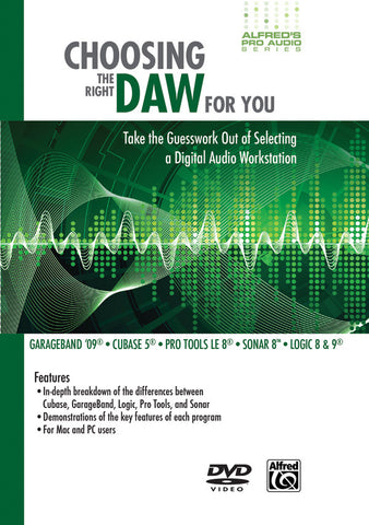 Choosing the Right DAW for You (DVD)