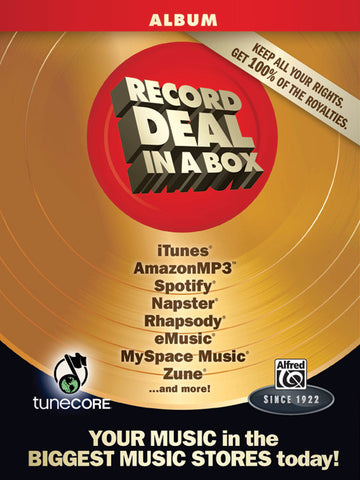 Record Deal in a Box: Album Edition (Box Set (including Studio One Software on DVD-ROM))