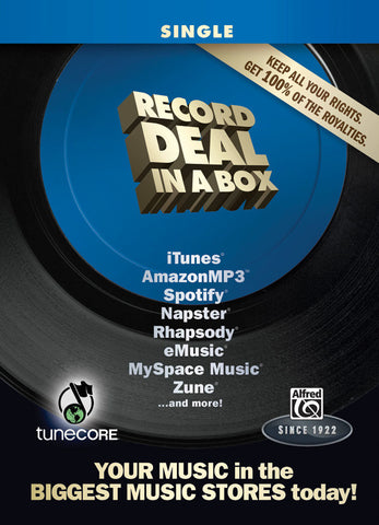 Record Deal in a Box: Single Edition (Box Set (including Studio One Software on DVD-ROM))