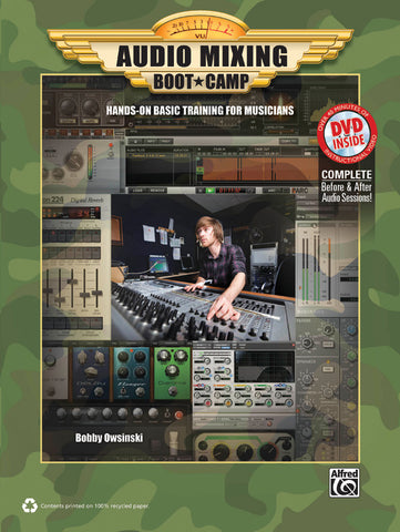 Audio Mixing Boot Camp (Book & DVD-ROM)