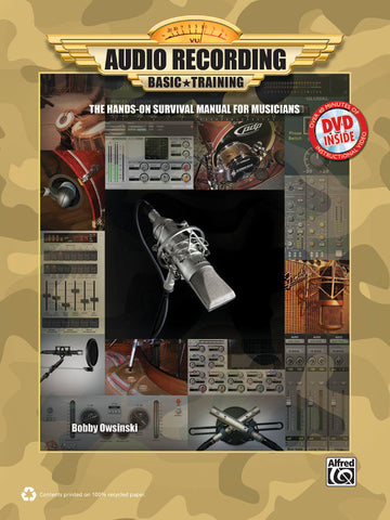 Audio Recording Basic Training (Book & DVD-ROM)