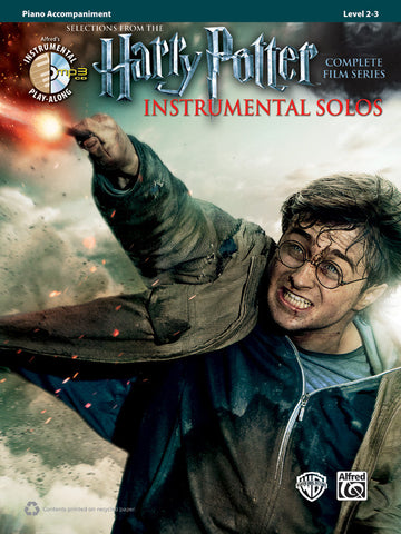 Harry Potter Instrumental Solos Piano Acc. Book & CD
