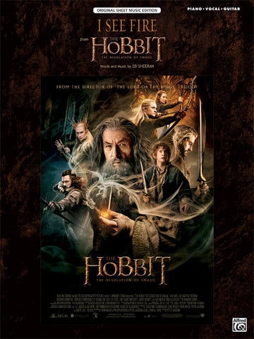 I See Fire (from <i>The Hobbit: The Desolation of Smaug</i>) Piano/Vocal/Guitar