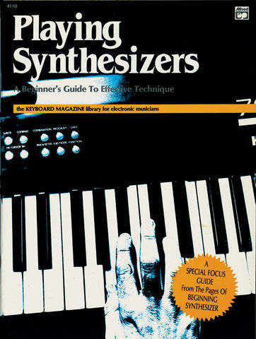 Playing Synthesizers (Book)