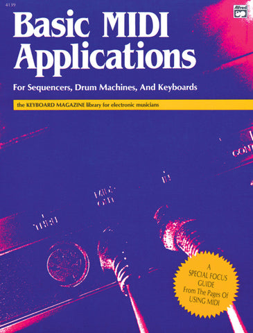 Basic MIDI Applications (Book)