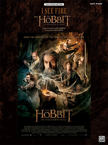 I See Fire (from <i>The Hobbit: The Desolation of Smaug</i>) Easy Piano
