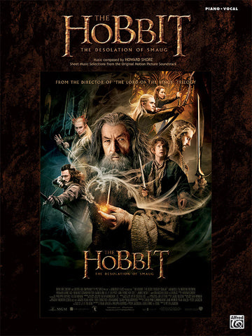 The Hobbit: The Desolation of Smaug Piano/Vocal