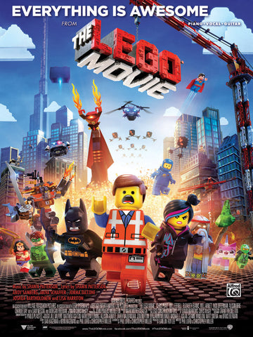 Everything Is Awesome (from <i>The Lego® Movie</i>) Piano/Vocal/Guitar