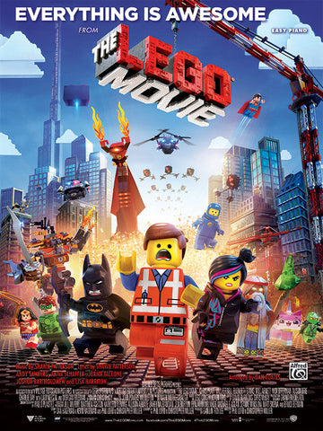 Everything Is Awesome (from <i>The Lego® Movie</i>) Easy Piano