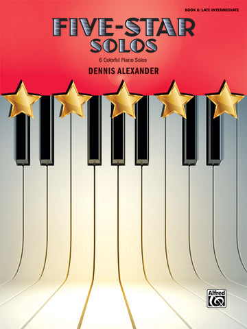 Five-Star Solos, Book 6