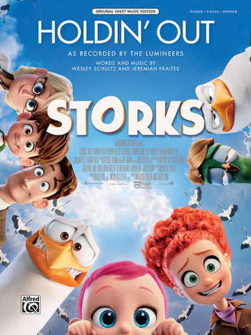 Holdin' Out (from Warner Bros. Pictures <i>Storks</i>) Piano/Vocal/Guitar