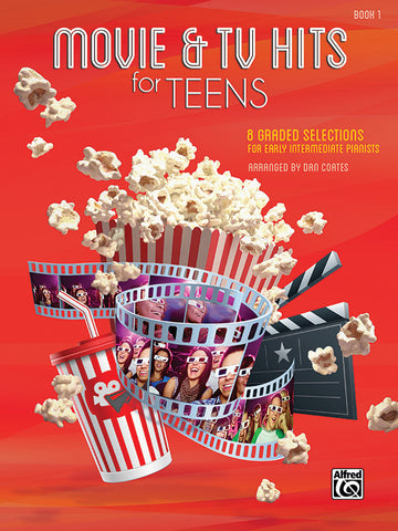 Movie & TV Hits for Teens, Book 1