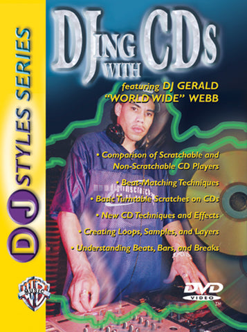DJ Styles Series: DJing with CDs (DVD)