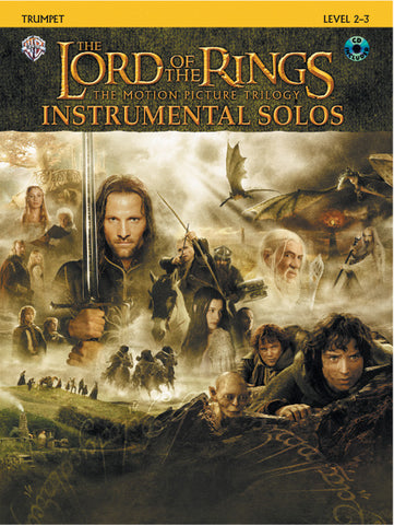 <I>The Lord of the Rings</I> Instrumental Solos Trumpet Book & CD