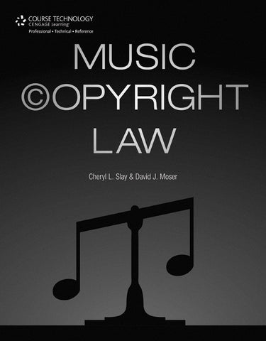 Music Copyright Law (Book)