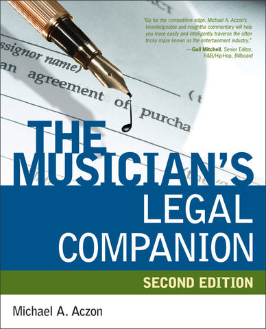 The Musician's Legal Companion (2nd Edition) (Book)