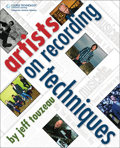 Artists on Recording Techniques (Book)
